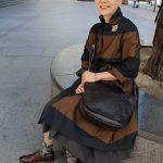 シニアファッション 70代80代の秋の旅行コーディネート