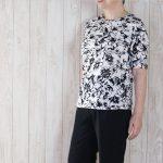 夏のシニアファッションは・・・Tシャツ一枚でおしゃれに