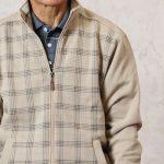 軽いトレーナーのようなジャケットがお父さんにちょうどいい