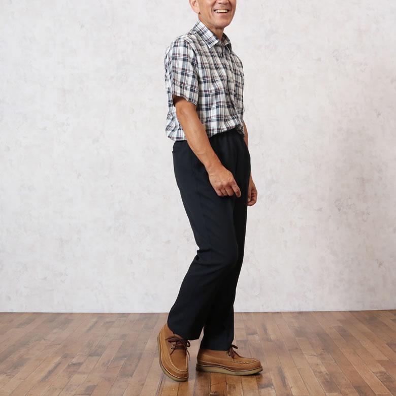シニアファッション紳士2018年8月のコーディネートNo1