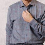 人気のあった伸縮性のある長袖シャツが再入荷しました