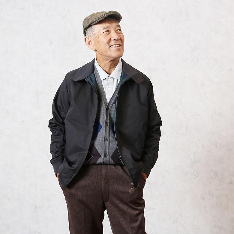 シニアファッション紳士2018年11月のコーディネートNo3