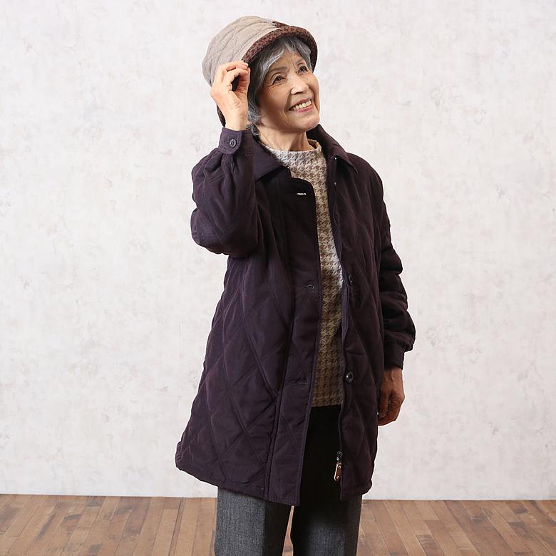 シニアファッション 冬