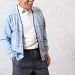 70代80代のシニア男性の春のファッションにおすすめカーディガン