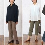 60代70代80代女性の秋のファッションに総ゴムズボンの選び方