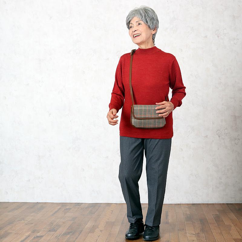 シニアファッションコーディネート