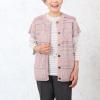 【シニアファッションコーディネート】 春服ベストを使ったコーディネート