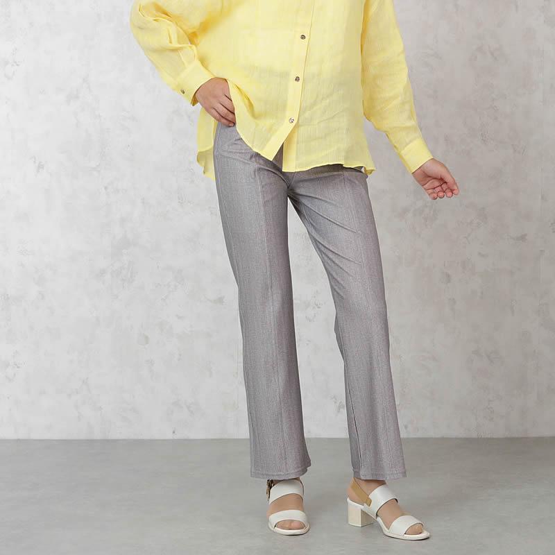 シニアファッションレディースパンツ