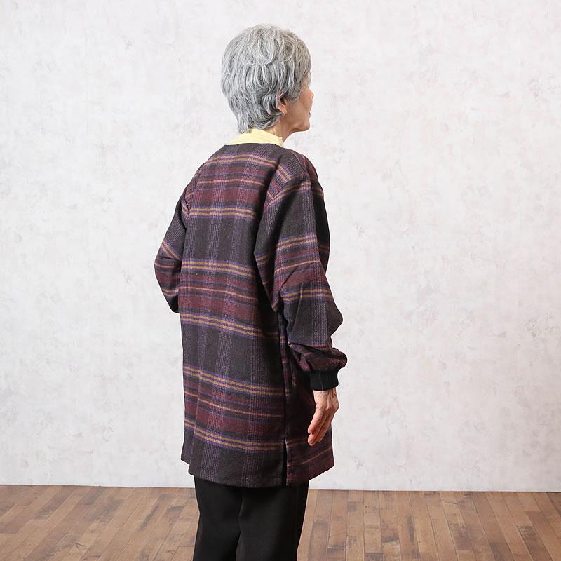 70代80代シニア女性に人気のあったかスモッグ(洋服)