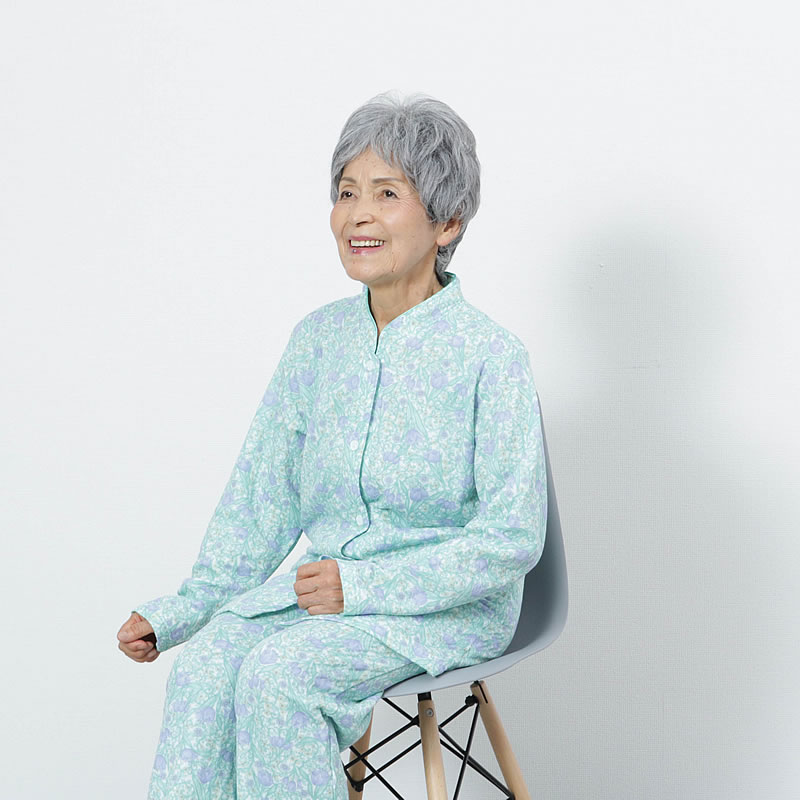 70代80代シニア女性に人気のあったかパジャマ(寝巻)