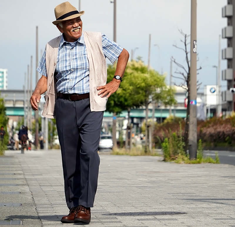 デイサービスの服装 男性コーディネート例