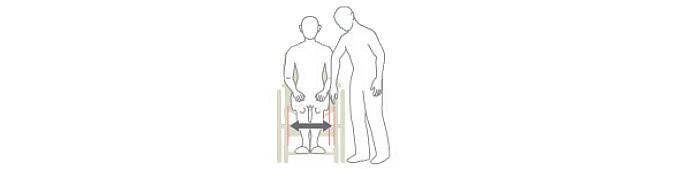 車椅子の座幅の計り方